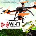 Quadcopter com Câmera 4CH 6 Axis Gyro iniciante Profissional Zangão RC com Câmera Wi-fi Helicóptero de Controle Remoto Por Telefone