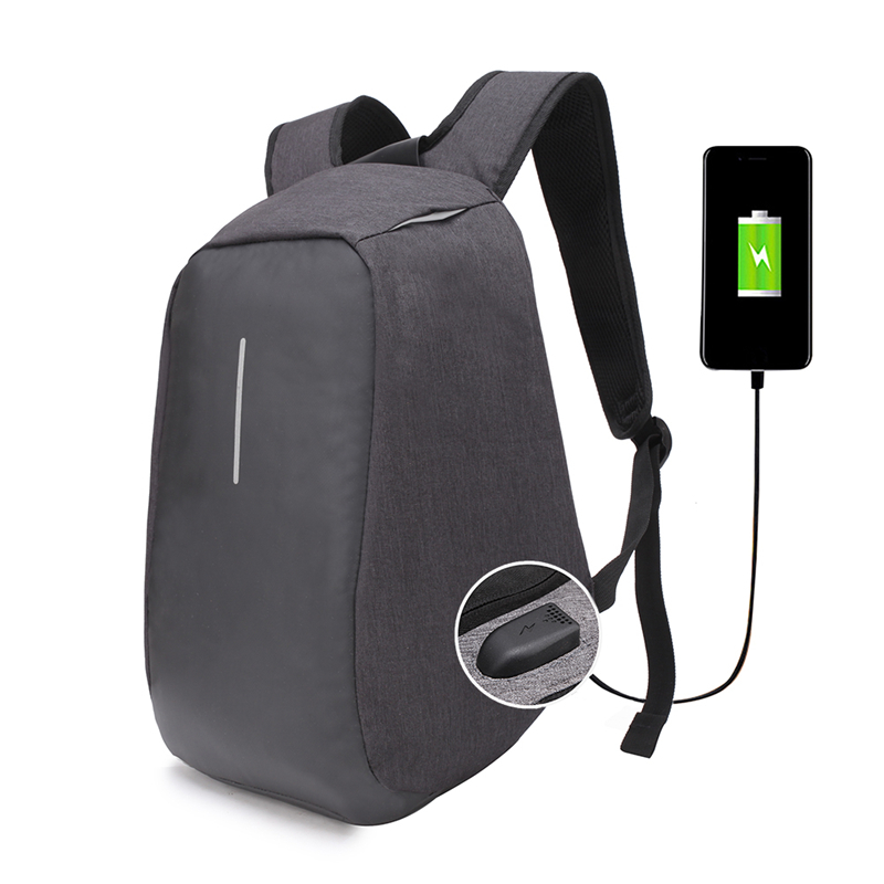 USB Charge Anti Theft Backpack Men Travel Security Waterproof School Bags College Teenage Male Laptop Backpack ozuko multi functional men backpack waterproof usb charge computer backpacks 15inch laptop bag creative student school bags 2018