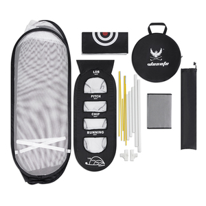 Image 5 - Golf praxis net und schlagen matte Tragbare Indoor und outdoor golf Training aids