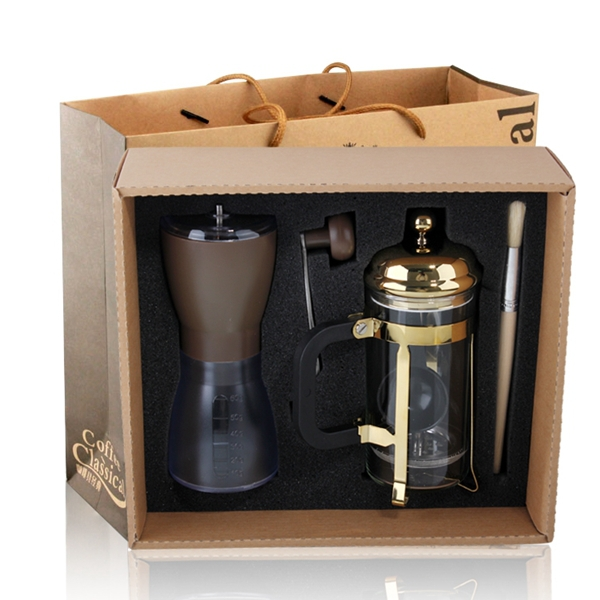 online shop free shipping coffee gift set 1pc 350ml press