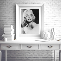 Vintage Marilyn Monroe Canvas Painting Movie Posters Black White Wall Art Picture For Bedroom Home Decor