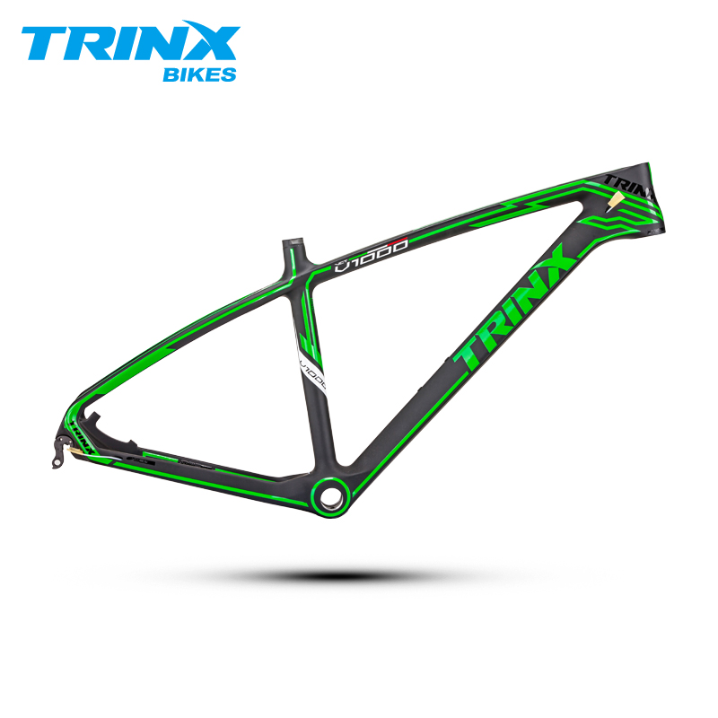 TRINX T700 Carbon Fiber Mountain Bike Frame 26 Inch Light Weight Bicycle Frame Cycling Frame Bicycle Parts