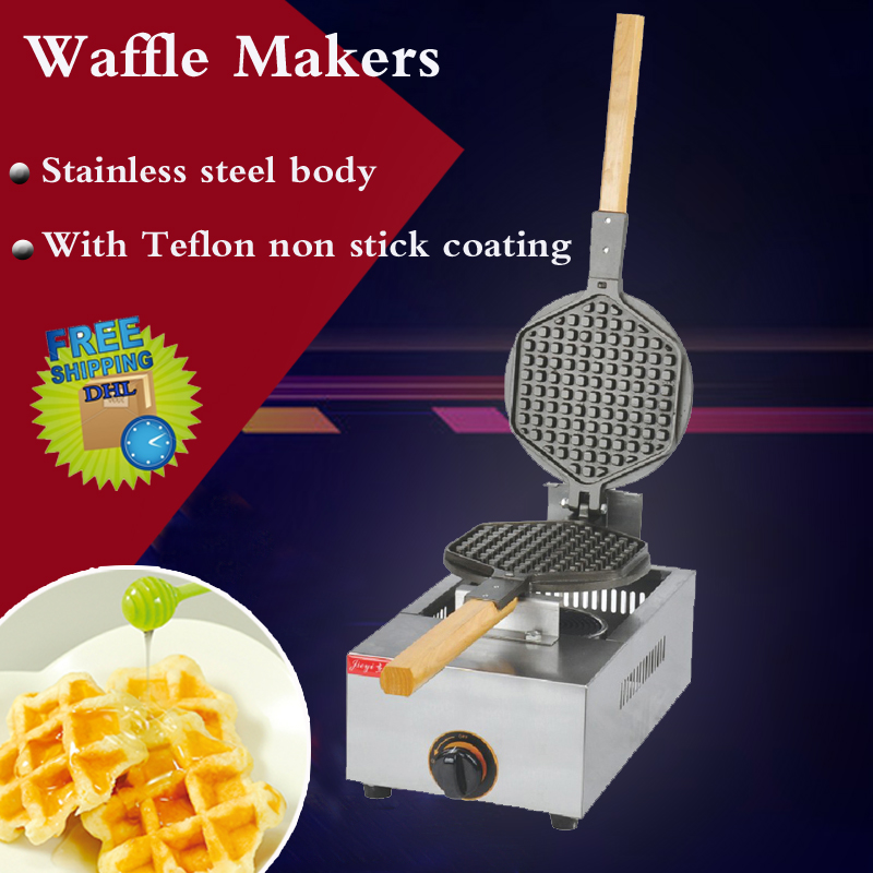 все цены на 1PC FY-1.R GAS waffle baker, square waffle pan , ceramic plates baker material , Waffle Egg Makers machine