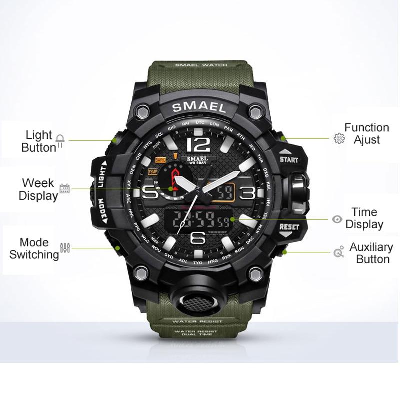 שעון ספורט לגבר SMAEL 2