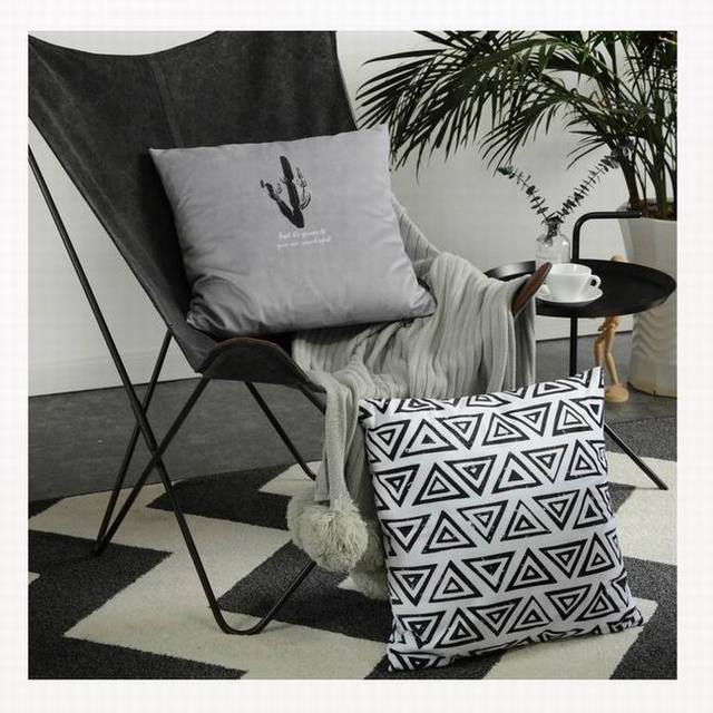 Patterned Cushion Decorative Pillows Bedroom Pillow Livingroom Cushions  Sofa Pillow Pad Summer Chair Seat Cushion Quality