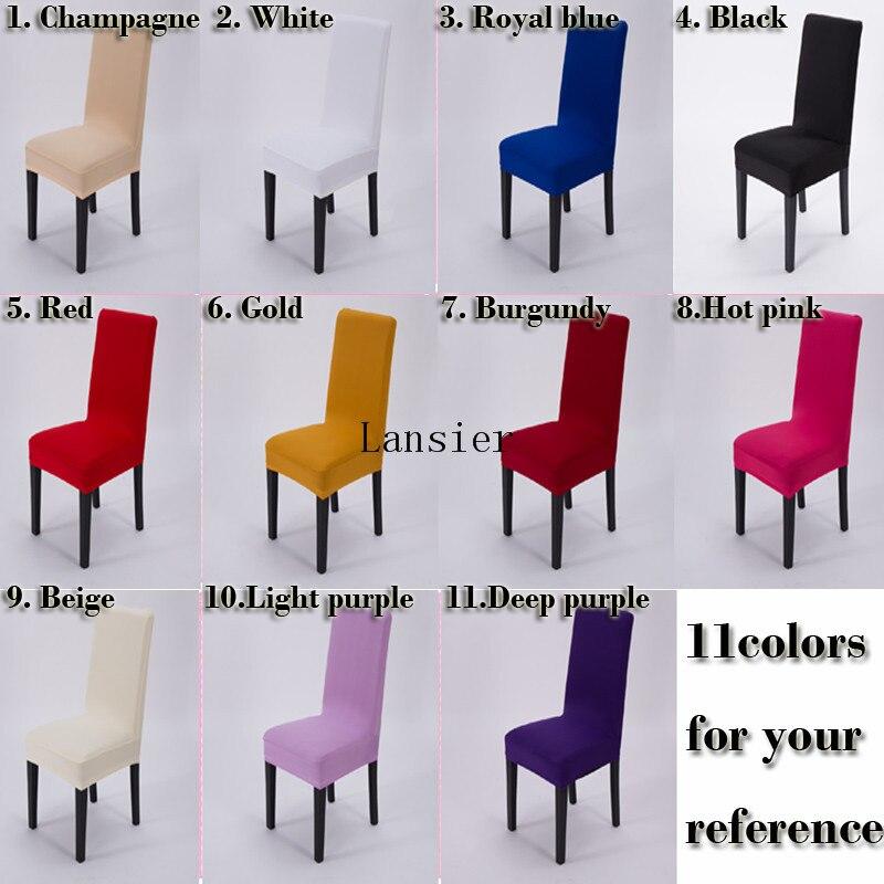 housses de chaise spandex rouge promotion-achetez des housses de
