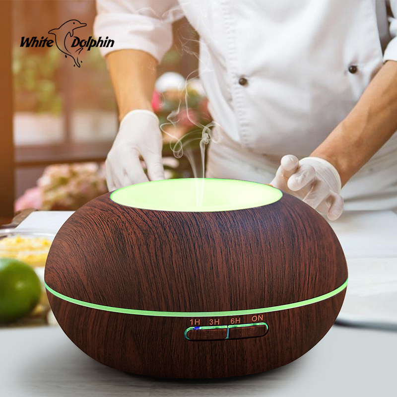 Air Humidifier Aroma Essential Oil Diffuser Waterless Auto Shut-off Ultrasonic Aromatherapy Humidifier Electric Diffuser Oil цена