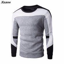 где купить 2018 New Arrival Spring Hoodie Sweatshirt Men Fashion Quality Cotton Hoodies Men Casual Sweatshirt Male Size M-2XL Xnxee по лучшей цене