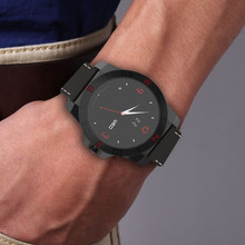 Smartwatch Smart Uhr N10A N10B Uhr Luxus Lederband mit Pedometer Hands Free Kompass für iOS Android Smartphone N10