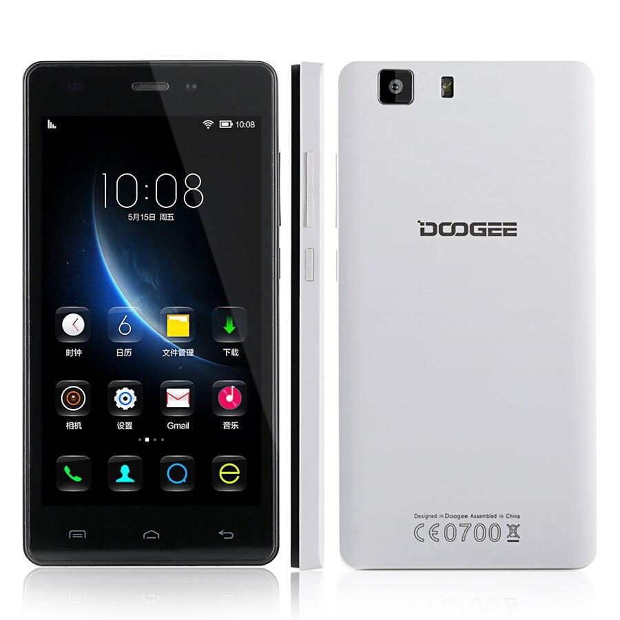 Original DOOGEE X5 PRO Mobile Phones 5.0 Inch HD 2GB RAM
