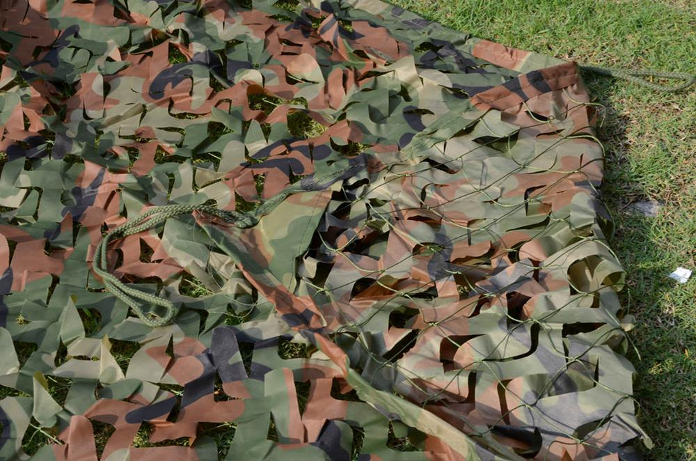 Free Shipment Woodland hunting camo Jungle army netting camouflage equipment hunting camouflage net car cover 5*5M(197in*197in) jumbo black red jungle camo vinyl wrap jumbo camouflage sticker bomb film bubble free for suv truck jeep 30m roll