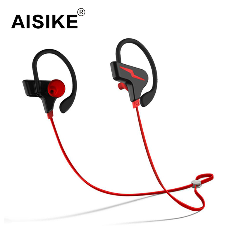 AISIKE S30 Wireless Bluetooth V4.1 Stereo Headset In-ear Earphone Sport Running Gym Exercise Earbuds Earphone for iPhone 7 FW1S cinkeypro mini bluetooth headset 4 1 wireless invisible sport earphone car ear earbuds for iphone 7 6 computer universal