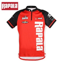 Rapala marca RAPPW13 maglietta da pesca estiva abbigliamento da pesca asciugatura rapida traspirante Anti UV protezione solare vestiti manica corta