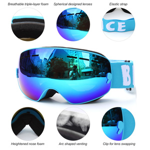Image 5 - Children Ski Goggles UV400 Anti fog Double Layers Skiing Mask Glasses Snowboard Skating Windproof Sunglasses Skiing Goggles