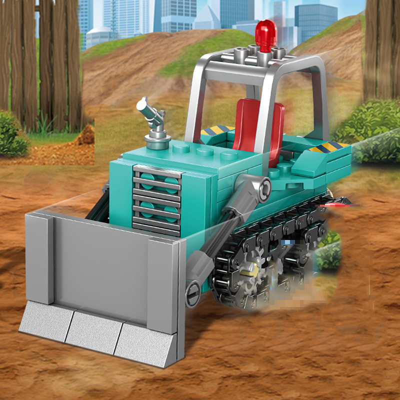 4-in1-City-Engineering-Construction-Excavator-Vehicles-Truck-Building-Blocks-Compatible-Technic-City-Bricks-Toys-For (6)