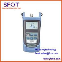 Portátil Medidor de Potencia Óptica Para Redes De Fibra Óptica + Pantalla LCD, PM-3200