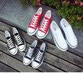 2016 женщины пара холст квартиры обувь мягкое дно ткань обувь 4 цветов freeship