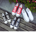 2016 women couple canvas flats shoes soft bottom cloth shoes 4 colors freeship