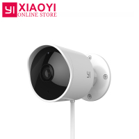 Original YI Outdoor Security Camera Cloud Camera 1080P Resolution Wireless IP Waterproof Night Vision Security Surveillance