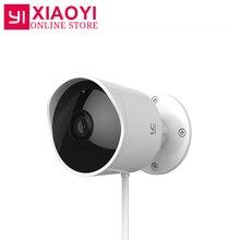 Original YI Outdoor Security Camera Cloud Camera 1080P Resolution Wireless IP Waterproof Night Vision Security Surveillance Cam
