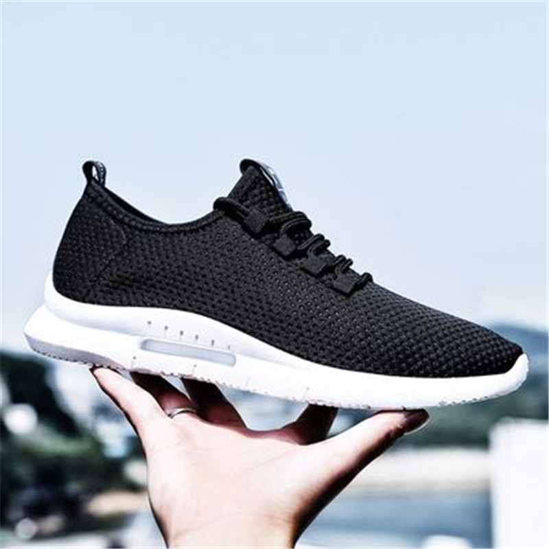 Running Shoes Shoes Sneakers Men Summer Lightweight Trainers Male Casual Mesh Breathable Shoes Lace Up Sports Flats Sapato Masculino Krasovki