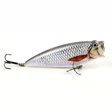 9.5cm/16.2g Hot Sale Popper Fishing Lure Topwater Crankbait Fish Bait For Saltwater Freshwater 5 Colors Optional HML05