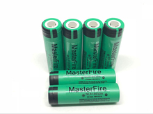 6PCS/LOT Original 18650 NCR18650A Rechargeable Li-ion battery 3100mAh Batteries For Panasonic Free Shipping