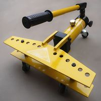 Hydraulic Pipe Bender Manual Bending Tool For 1 Inch Aluminum Pipe Iron Tube Or Other Materials