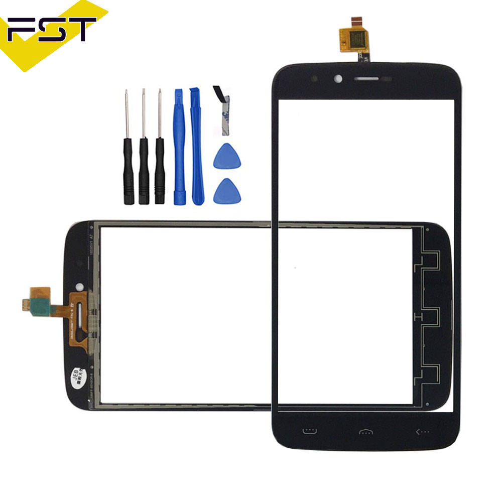 5.5 pollice Per HOMTOM HT50 Touch Screen In Vetro 100% Garanzia New Glass Panel Touch Screen Per HT50 + strumenti + adesivo