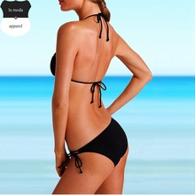 Purple Brazilian Bikinis Sexy Halter triangulo Bikini Set Swimwear Women Bathing Suit Swimsuit maillot de bain femme