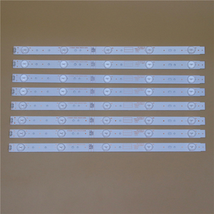 Image 5 - TV LED Light Bars For TelefunkenTF LED43S27T2 RDL430FY LD0 10f Backlight Strip Kit LED Lamp Lens Band 5800 W43001 5P00 VER02.00