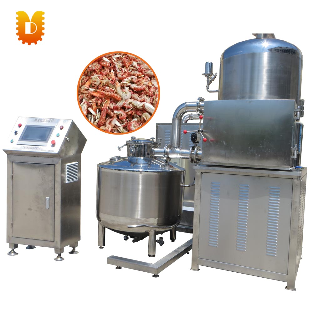 120kg/time Low temperature Vacuum Fryer Machine/Potato Chips Onion Fryer Machine Price
