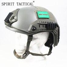 SPIRIT TACTICAL Aramid NIJ level IIIA FAST High Cut Ballistic Helmet Bulletproof Tactical Helmet Masks Seals maritime version
