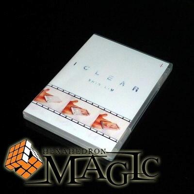 IClear argent ou or de Shin Lim-tour-magie de scène, mentalisme/gros plan rue produits de tours de magie professionnels