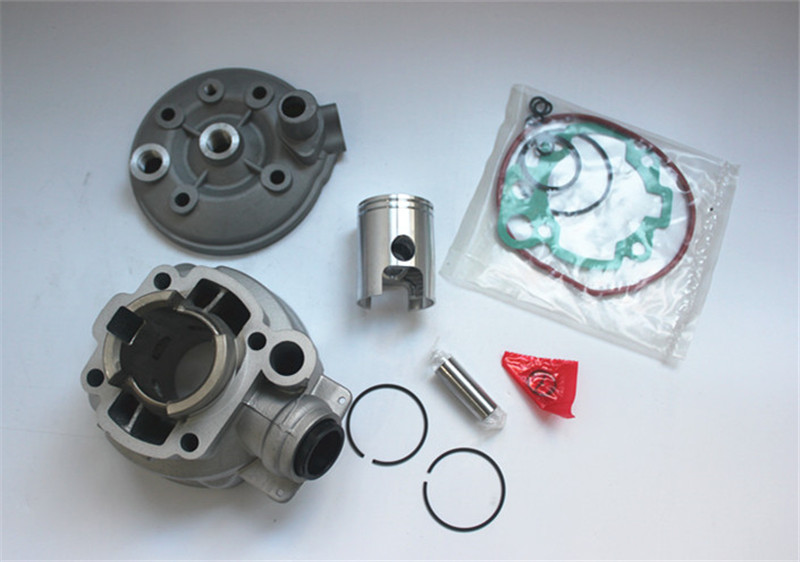 Motorcycle Kit Top Engine Cylinder Kit Piston Ceramics Cylinder For Yamaha AM6 DT XP6 XR6 X-Limit X-Power TZR RS