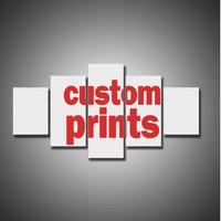 5แผงที่กำหนดเองพิมพ์ภาพของคุณ,ครอบครัวหรือภาพทารก,ที่ชื่นชอบภาพที่กำหนดเองพิมพ์บนผืนผ้า...