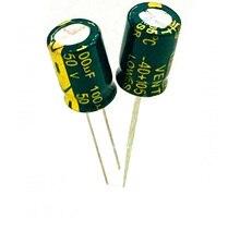 50V100UF электролитический конденсатор 8×12 200 шт./лот