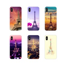 Accessories Phone Cases Covers For Samsung Galaxy S3 S4 S5 Mini S6 S7 Edge S8 S9 S10 Lite Plus Note 4 5 8 9 Paris Eiffel Tower(China)