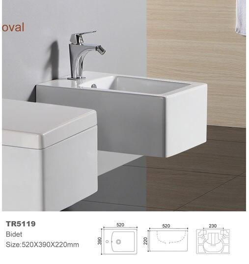 Wc bidet doccia bidet bidet in ceramica parete appeso montato bidet wc mobili da bagno non - Rubinetto a parete bagno ...