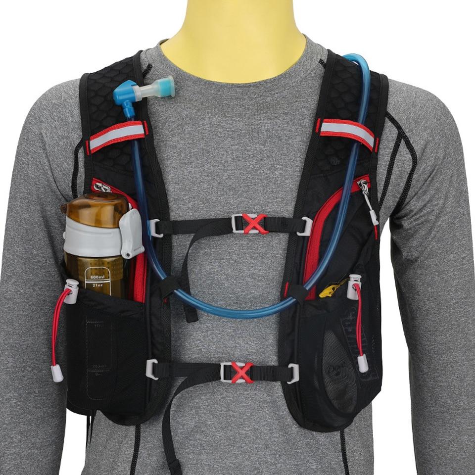 LOCAL LION Running Bag Bicycle Backpack Cycling Run Bag Rucksack Hydration Men Sport Bags Light Waterproof Riding Bike Back Pack 2