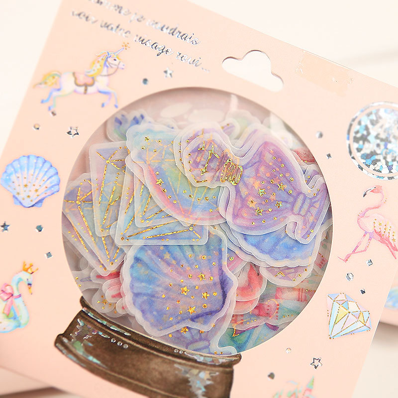Crystal Ball Gilding Sea Candy Stickers Adhesive Stickers DIY Decoration Stickers alive for all the things are nice stickers adhesive stickers diy decoration stickers