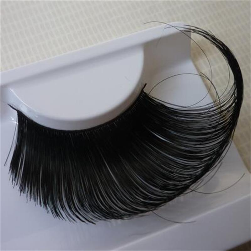 dd3bf3a55ae Detail Feedback Questions about 1 pairs Pure manual black long vacation false  eyelash stage exaggeration Halloween performance Winged Fake eyelashes  KZ014 ...