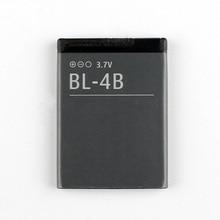 лучшая цена Original High Capacity BL-4B Battery For NOKIA 5000 6111 7070 7088 7370 7373 7500 2505 3606 3608 2670 2660 2630 700mAh