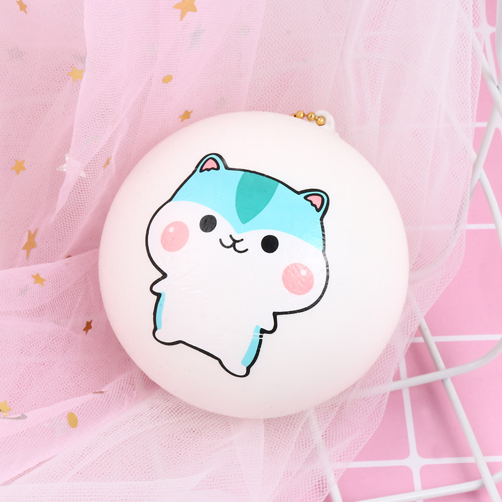 Bread Pendant Scented Charm Slow Rising Collection Stress Reliever Toys Very Cute Bread Pendant Decompression Toy 30