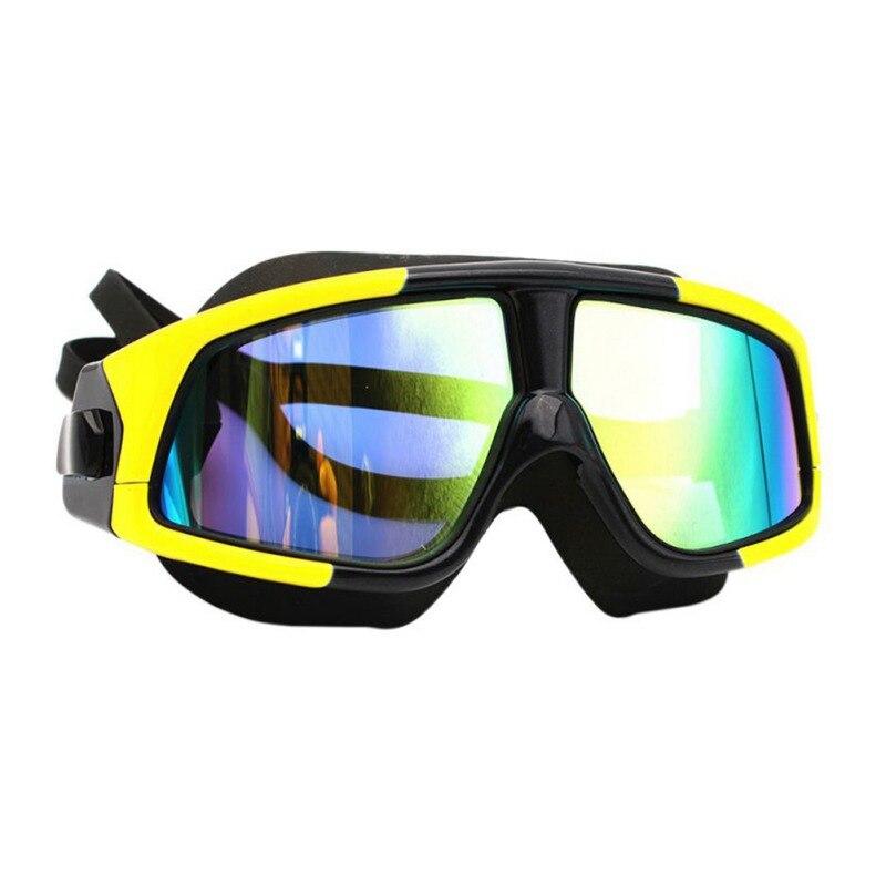 Очки для плавания ming, для мужчин и женщин, спортивные, профессиональные, анти-туман, защита от ультрафиолета, водостойкие, регулируемые, очки для плавания - Color: 2
