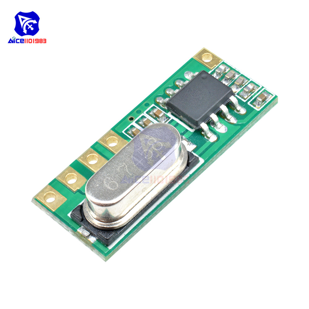 5PCS 4.5-5.5V LR45B  433MHz ASK Superheterodyne Wireless Receiver Module
