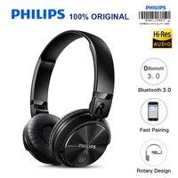 פיליפס אלחוטי אוזניות SHB3060 עם מיקרו USB סוללת ליתיום 11 שעות זמן מוסיקה עבור Iphone X Iphone 8 אימות רשמית