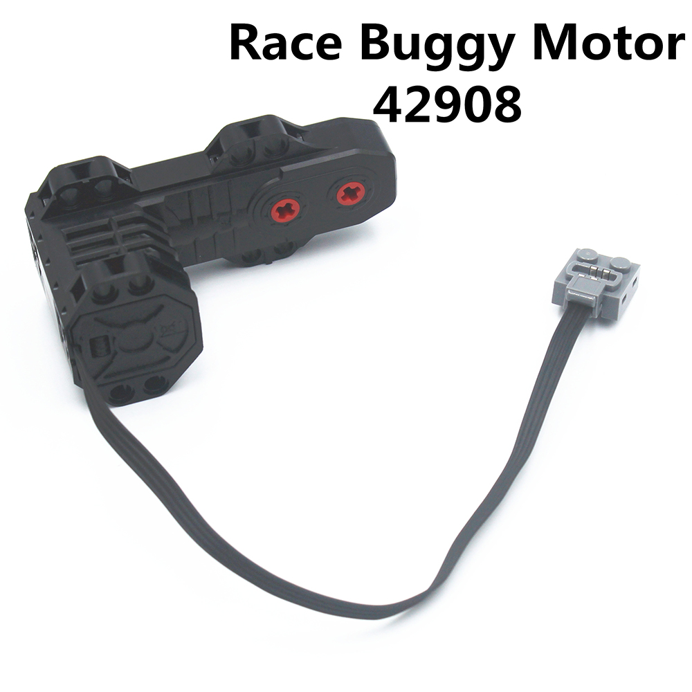 MOC Technic pièces 1 pcs RC course Buggy moteur (moteur monstre) compatible avec lego pour garçons jouet (42908)