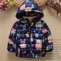 winter kids down coat girls graffiti jacket warm thick cartoon children outerwear parka jackets for children kids winter coats