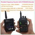 SF401 Плюс Частота Портативный измеритель 27 МГц-3 ГГц DAXSHINE Портативный Счетчик Частоты с CTCSS/DCS Декодер